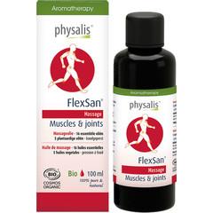 Physalis Massageolie flexsan bio (100 ml)