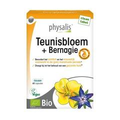 Physalis Teunisbloem & bernagie bio (60 capsules)