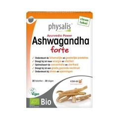 Physalis Ashwagandha forte bio (30 tabletten)