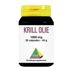 SNP Krill olie 1000 mg one a day (30 capsules)