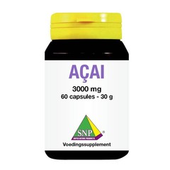 SNP Acai 3000 mg (60 capsules)