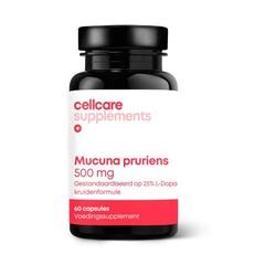 Cellcare Mucuna pruriens 500 mg (25% L-dopa) (60 vcaps)