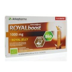 Royal Boost Royal Jelly boost (7 + 3) 15 ml per ampul bio (10 ampullen)