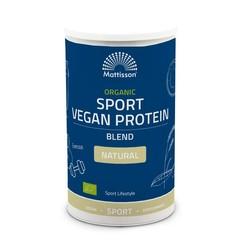 Mattisson Organic sport vegan protein blend natural (500 gram)