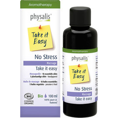 Physalis Massageolie no stress bio (100 ml)
