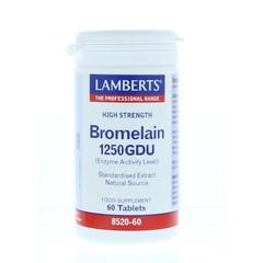 Lamberts Bromelaine 1250 gdu (60 tabletten)
