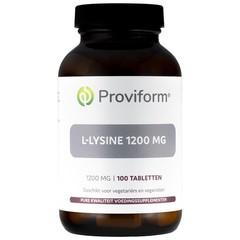 Proviform L-Lysine 1200 mg (100 tabletten)