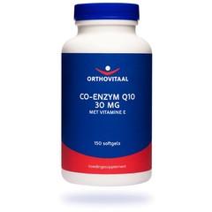 Orthovitaal Co-enzym Q10 30 mg met Vitamine E (150 softgels)