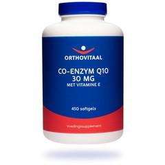 Orthovitaal Co-enzym Q10 30 mg met Vitamine E (450 softgels)