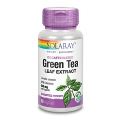 Solaray Groene thee extract 250 mg (30 vcaps)