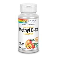 Solaray Vitamine B12 2500 mcg (60 zuigtabletten)