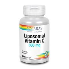 Solaray Vitamine C liposomaal 500 mg (100 vcaps)