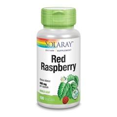 Solaray Rubus idaeus framboos 400 mg (100 vcaps)