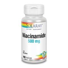 Solaray Vitamine B3 niacinamide 500 mg (100 vcaps)