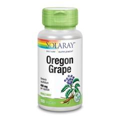 Solaray Berberis aquifolium 400 mg (100 vcaps)