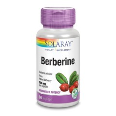 Solaray Berberine 500 mg (60 vcaps)