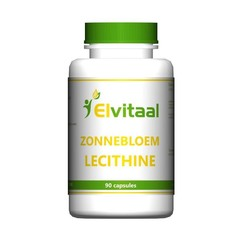Elvitaal Zonnebloem lecithine (90 capsules)