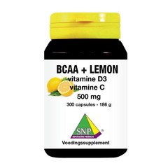 SNP BCAA Lemon vitamine D3 vitamine C 500 mg (300 capsules)