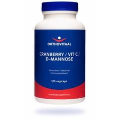 Orthovitaal Cranberry / Vitamine C / D-Mannose (120 vcaps)