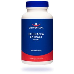 Orthovitaal Echinacea extract 250 mg (400 tabletten)