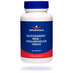 Orthovitaal Glucosamine / MSM / Hyaluronzuur (60 tabletten)