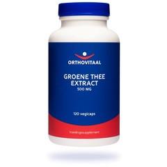 Orthovitaal Groene thee extract 500 mg (120 vcaps)