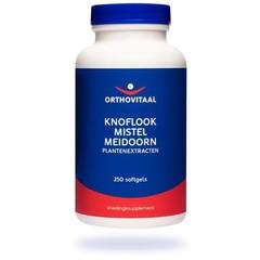 Orthovitaal Knoflook mistel meidoorn (250 softgels)