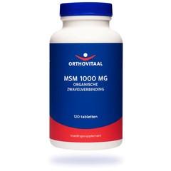 Orthovitaal MSM 1000 mg (120 tabletten)