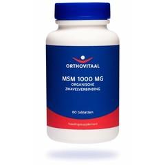 Orthovitaal MSM 1000 mg (60 tabletten)