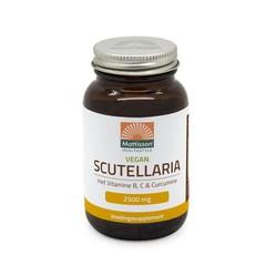 Mattisson Scutellaria 2500 mg met vit b, c, curcumine vegan (60 vcaps)