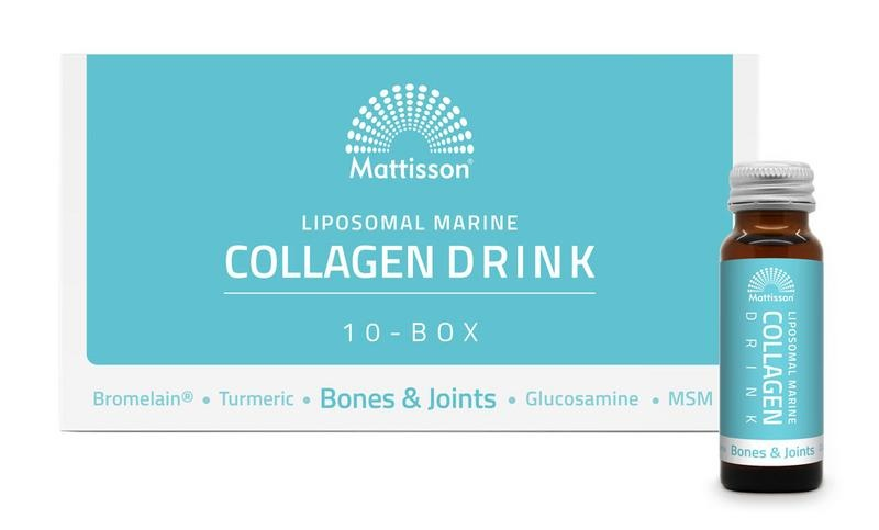 Mattisson Marine collageen drink bones&joints liposomal box (10x50 ml)