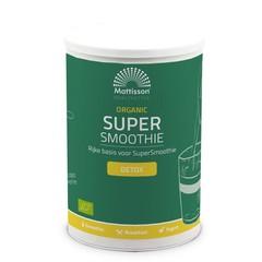 Mattisson Organic supersmoothie detox bio (500 gram)