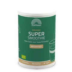 Mattisson Organic supersmoothie breakfast bio (500 gram)