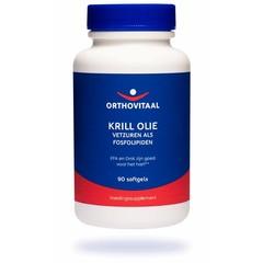 Orthovitaal Krill olie 500 mg (90 softgels)
