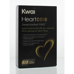 Kwai Heartcare zwarte knoflook forte (100 tabletten)