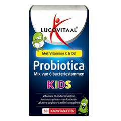Lucovitaal Probiotica kids (30 kauwtabletten)