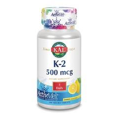 KAL Vitamine K2 citroen ActivMelt (100 microtabletten)