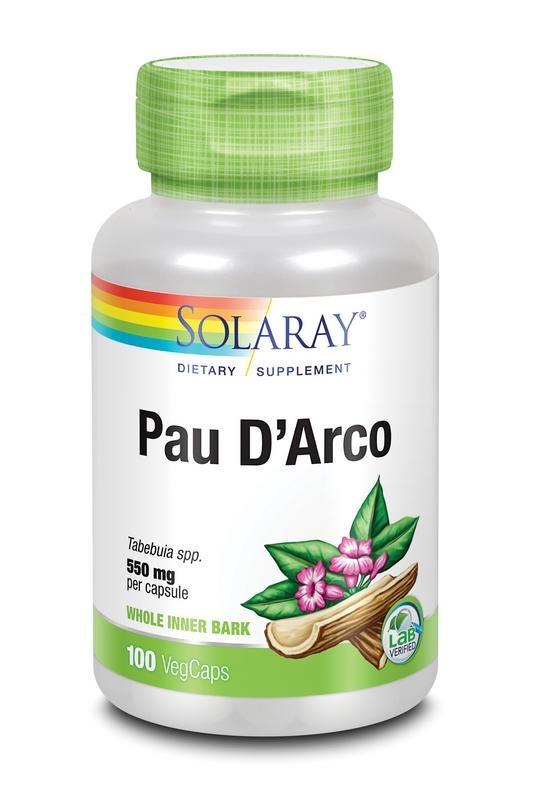 Solaray Pau d'arco 550 mg (100 vcaps)