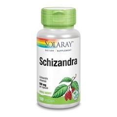 Solaray Schisandra 580 mg (100 vcaps)