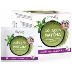 Physalis Collagen matcha 10 gram (12 stuks)