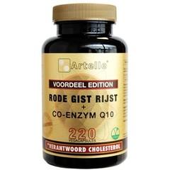 Artelle Rode gist rijst 100 mg Q10 30 mg (220 vcaps)
