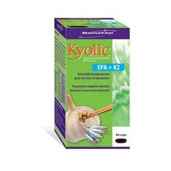 Mannavital Kyolic EPA & K2 (80 vcaps)