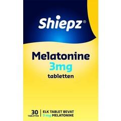 Shiepz Melatonine 3 mg (30 tabletten)