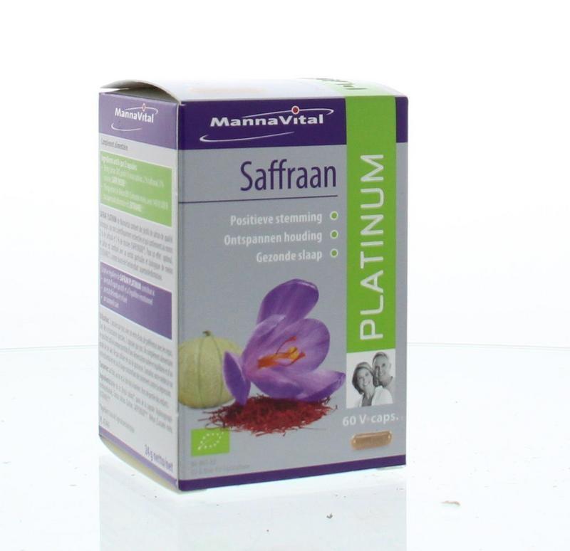 Mannavital Saffraan platinum (60 vcaps)