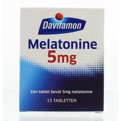 Davitamon Melatonine 5 mg (15 tabletten)