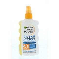 Garnier Ambre solaire spray clear protect 20 (200 ml)
