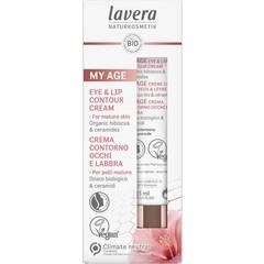 Lavera My Age oog- en lipcontourcreme (15 ml)