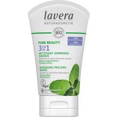 Lavera Pure Beauty 3in1 reiniger - peeling - masker F-NL (125 ml)