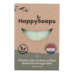 Happysoaps Gezichtsreiniger aloe vera (70 gram)