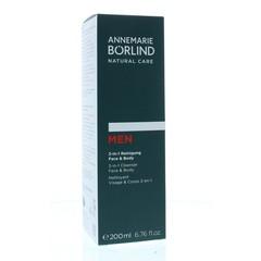 Borlind Cleanser men 2 in 1 face & body (200 ml)